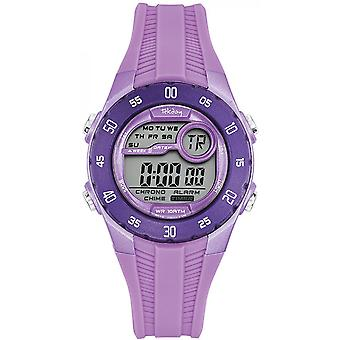 Watch Tekday 653964 - violet chronograph