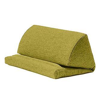 Olive Wool Effect iPad Kindle Tablet Boek Stand Foam Pillow Lap Rest Cushion