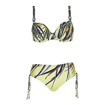 Opera 61026-99 Women's Tropical Vibes Multicoloured Bikini Set