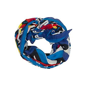 Women's Lacoste Blue Scarves