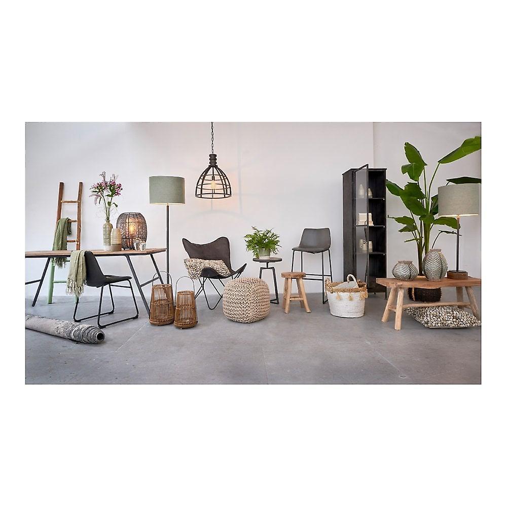 Light & Living Desk 120x45.5x75.5cm Catarama Antique Black