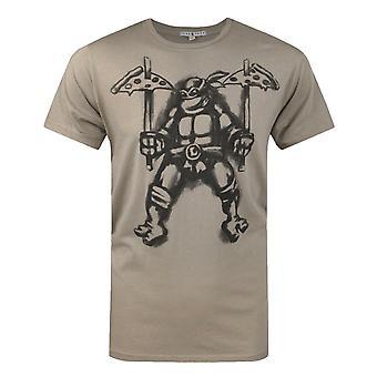 Junk Food Adolescente Mutante Tartarugas Ninja Pizza Men's T-Shirt
