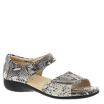 David Tate Womens Superb Leather Open Toe Walking Ankle Strap Sandals