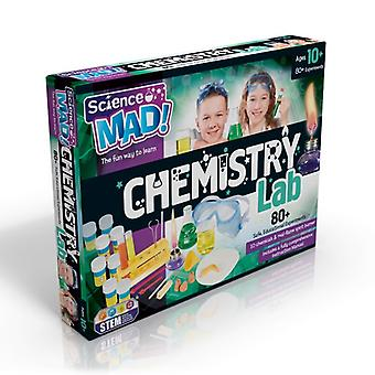 Science Mad Chemistry Lab 80+ Experiments STEM Ages 10 Years+