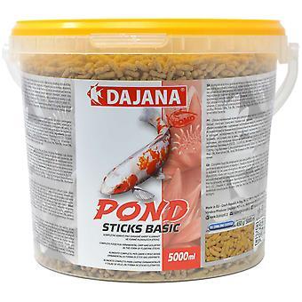 Dajana Koi Bits 5000 ml (Fish , Food , Warm Water)