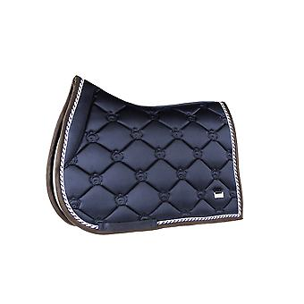 PS of Sweden Ps Of Sweden Monogram Full Size Jump Saddle Pad - Deep Sapphire