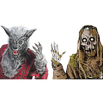 Vindue Dekorationer Zombie Varulv