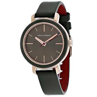 Armani Exchange Frauen's Klassische Grüne Uhr - AX5701