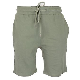 883 Police Bronte Cotton Khaki Shorts