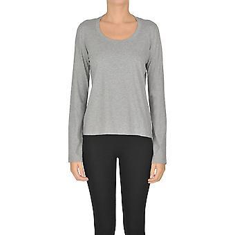 Acne Studios Ezgl151032 Women's Grey Cotton T-shirt