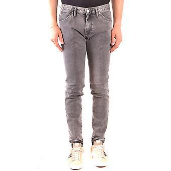 Pt05 Ezbc084057 Men's Black Cotton Jeans