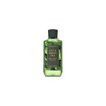 (2 Pack) Bath & Body Works Lily & Green Tea Shower Gel 10 fl oz / 295 ml
