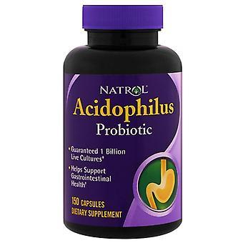 Natrol acidophilus probiotic, capsules, 150 ea