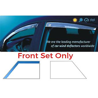Front Heko Wind Deflectors For Mercedes VITO Bus 2003-2014