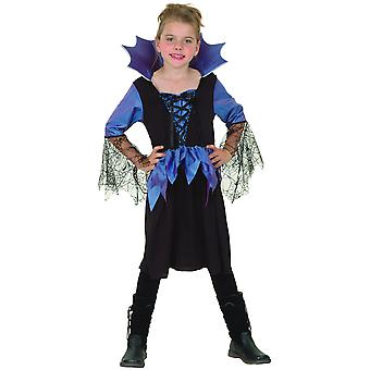 Blauw kostuum koningin Spider Girl