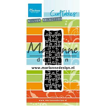 Marianne Design Craftables Cutting Dies - Punch Die Puzzle CR1492 26x90 mm
