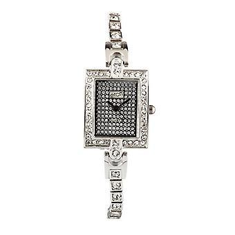 Eton Womens  Stone Set Tennis Bracelet Fashion Watch - 3063L-CH