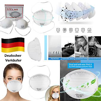 100x High Quality Breathing Protective Mask Respiratory Mask FFP2 Protection Mask Accessories New