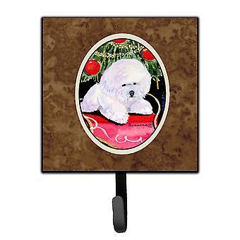 Carolines Treasures  SS8957SH4 Christmas Tree with  Bichon Frise Leash Holder or