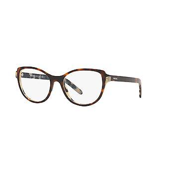 Prada VPR12V TH81O1 Top Dark Havana-Black Havana Glasses