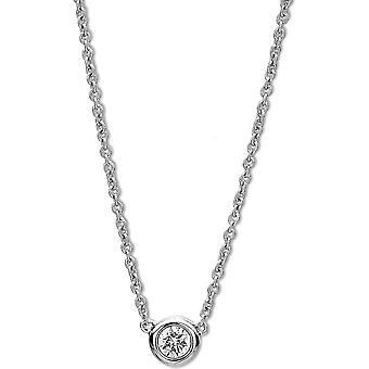Diamond Collier Collier - 14K 585/- Oro Bianco - 0.15 ct. - 4A007W4-9