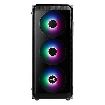 Micro ATX / Mini ITX / ATX Midtower Case Aerocool SI5200 Frost � 12 cm RGB