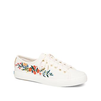 Keds Women-apos;s Kickstart Vines Embroidery Sneakers Keds Women-apos;s Kickstart Vines Embroidery Sneakers Keds Women-apos;s Kickstart Vines Embroidery Sneakers Ked