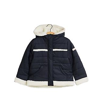 Esprit Girls' Outdoor Jacket With Teddy Bear Fur Lining
