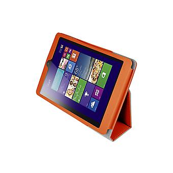 "Magnetic PU Leather Case Cover for Lenovo MiiX 3 7.85"" Tablet[Orange]"