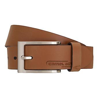 Cinto de couro do camelo ativo cinto couro cintos cintos homens Brown/camelo 996