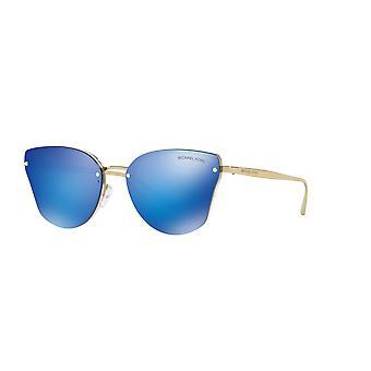 مايكل كورس سانيبل MK2068 330325 عارية شفافة / الكوبالت مرآة النظارات الشمسية