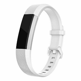 "Replacement Strap Silicone Band Bracelet for Fitbit Ace Kids / Alta / Alta HR[Small Fits Wrist 5.5"" - 6.9"",White]"