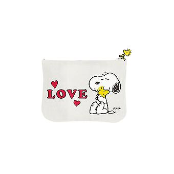 Snoopy peanuts love pouch bag