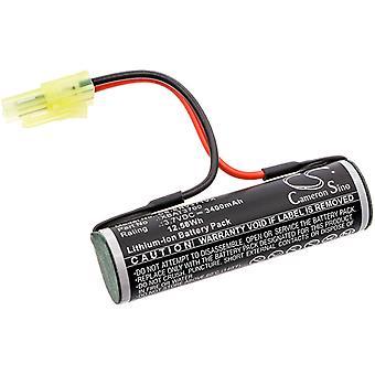Bateria para Shark Cordless Hard Floor Sweeper V3700 V3700UK XBAT3700 3400mAh