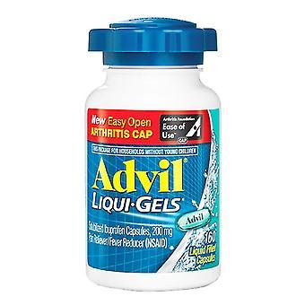 Advil liqui-gely, snadno otevřené, kapalné kapsle, 160 ea *