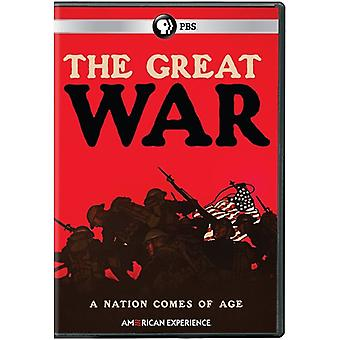 American Experience: The Great War [DVD] USA import
