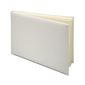 Rectangle Ivory 24.5cm Wedding Guest Book