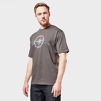 Neue Peter Storm Men's Kompass T-Shirt grau