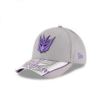 Transformers Text and Decepticons Logo New Era 9Forty Adjustable Hat