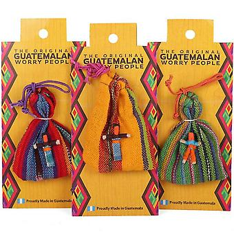 Something Different Bag Of 6 Worry Dolls