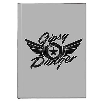 Gipsy Danger Pacific Rim Hardback Journal