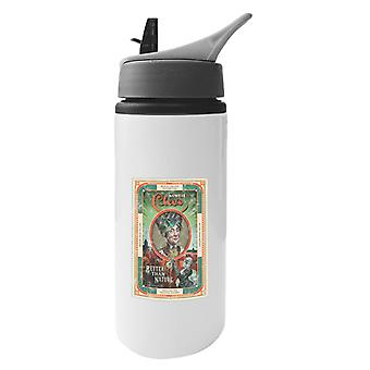 The Outer Worlds Auntie Cleos Better Than Nature Poster Aluminium Water Bottle With Straw
