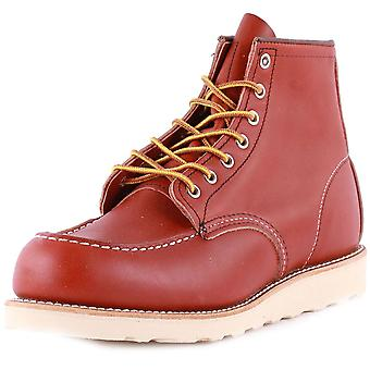 Red Wing 6-inch Moc Toe Mens Classic Boots in Rust