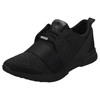 Ted Baker Capela Womens Fashion Trainers in Black