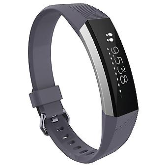 Replacement Bracelet Wristband Strap Wrist Band for Fitbit Alta & Alta HR Buckle[Slate,Small] BUY 2 GET 1 FREE