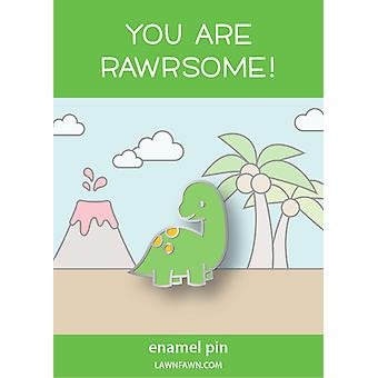 Rasen Fawn Dino-Mite Emaille Pin