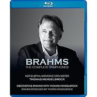 Johannes Brahms: Complete Symphonies [Blu-ray] USA import