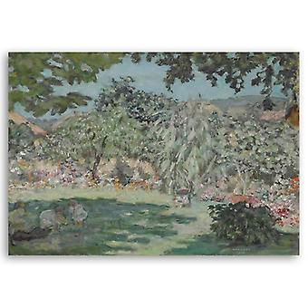 Print on canvas - Jardin En Dauphine - Pierre Bonnard - Painting on Canvas, Wall Decoration