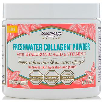 ReserveAge Nutrition, Freshwater Collagen Powder with Hyaluronic Acid & Vitamin
