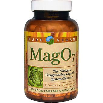 Pure Vegan, Mag 07, The Ultimate Oxygenating Digestive System Cleanser, 120 Vege